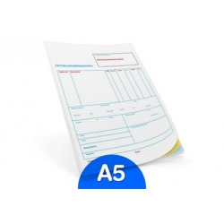 Fascicoli A5 in carta chimica (7gg)