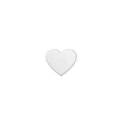 Adesivi cuore 14 X 12,4 cm (7gg)