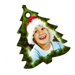 Addobbo natalizio cartone - Alberello