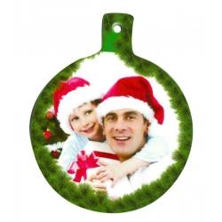 Addobbo natalizio cartone - Palla