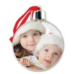 Addobbo natalizio Pallina trasparente