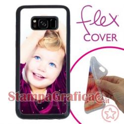 Cover morbida personalizzata Samsung S8 Plus