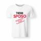 Maglietta Team Sposo
