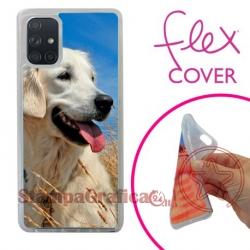 Cover morbida personaliz. Samsung A71