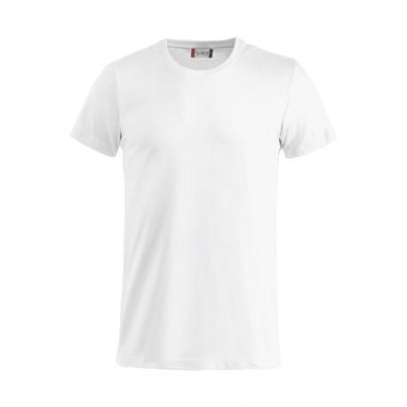 T-Shirt Bianca Adulto Cotone