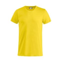 T-Shirt Bimbo Cotone Giallo Limone