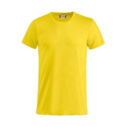 T-Shirt Adulto Cotone Giallo Limone