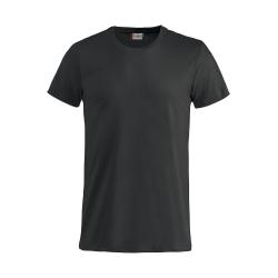 T-Shirt Bianca Bimbo Cotone Nero