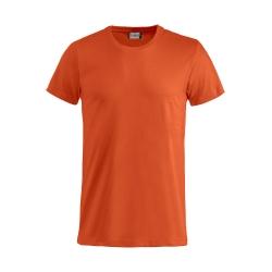 T-Shirt Bianca Bimbo Cotone Arancione