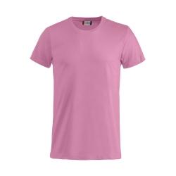T-Shirt Bimbo Cotone Rosa Brillante