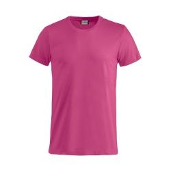 T-Shirt Bimbo Cotone Rosa Lampone
