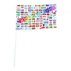 Bandiera Con Asta