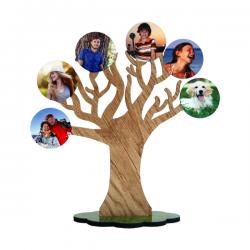 portafoto albero