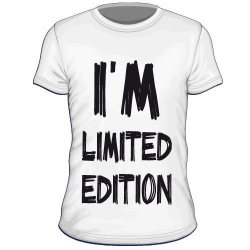 Maglietta i'm limited edition