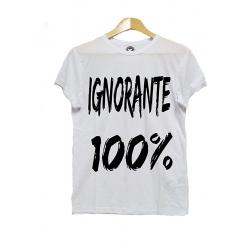 Maglietta Ignorante 100%