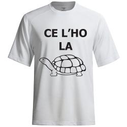 Maglietta Ce l'ho la tartaruga
