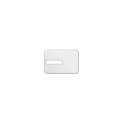 Tesserini in plastica con area per firma (9gg)